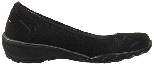 Play The Skechers Black Game Savvy Chiusa Donna Punta Ballerine qZnS5wz