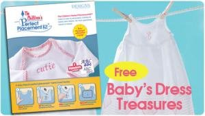 Childrens Perfect Placement Kit Embroidery product image