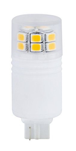 18w T5 Wedge Bulb - Newhouse Lighting T5 LED Bulb Halogen Replacement Lights, 3W (18W Equivalent), Wedge Base, 280 lm, 12V, 3000K, Non-Dimmable