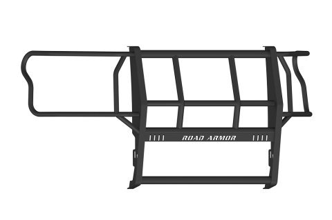 Road Armor 15-17 Ford F150 1Pc Grille Guard - Blk - 615BRSH (Ford Armor Road)