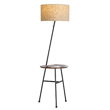 Yxx max *Lámpara de pie Lámpara de Piso de Madera Moderna ...