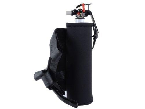 Jeep Wrangler YJ TJ JK & CJ 2.9lb Fire Extinguisher AND Black Holder for Roll Bar