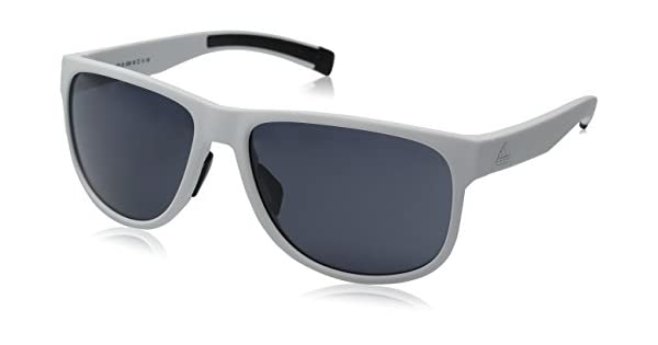 Sprung 60Mm Sunglasses White Matte Grey