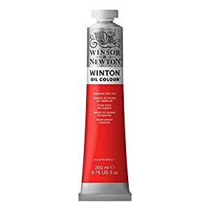 WINSOR AND NEWTON WINTON OIL COLOR 200ML CAD RED HUE