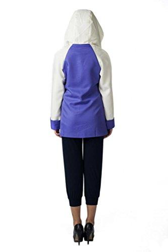 Mtxc Mujer Naruto Cosplay Disfraz Hyuuga Hinata Segundo Púrpura