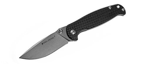 Real Steel RSK H6-S1 'beta-plus' frame lock folding knife super light CF carbon fibre handle (Carbon) Review