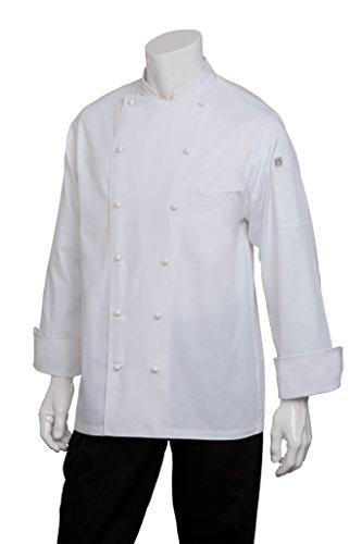 Chef Works Men's Henri Executive Chef Coat (CCHR)