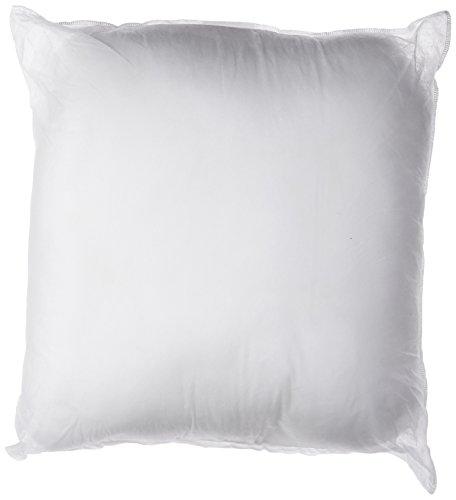 Sham-Stuffer-Square-Pillow-Form-Insert-Polyester-Standard-White