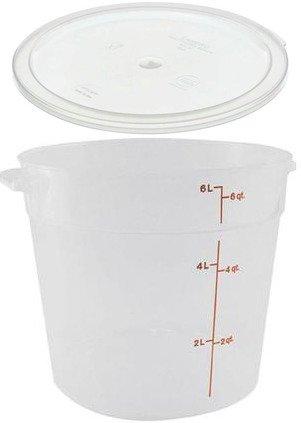 6 qt round container - 8