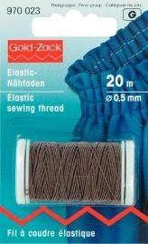 Gold Zack Elastic Sewing Thread ()