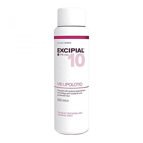 EXCIPIAL U10 Lipolotio für sehr trockene und juckende Haut, 500 ml Lotion