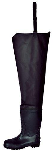 Portwest FW71 - Waders cintura S5 37/4, color Negro, talla 37 Negro - negro