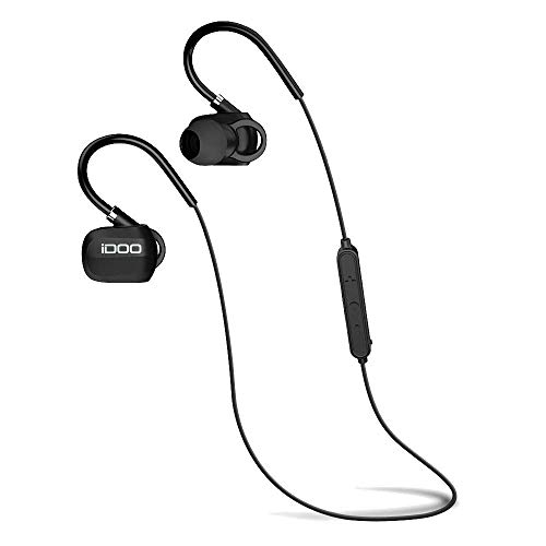 iDOO Bluetooth Headphones, V4.1 Wireless Stereo...