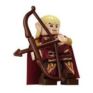 Lego Lord Of The Rings Minifigure: Haldir
