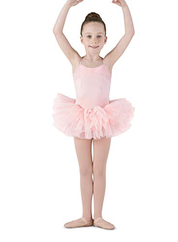 (Mirella Girl's Corset Back Camisole Dance Tutu Dress)