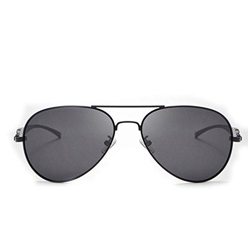 Sakuldes Gafas Black polarizadas Hombre UV400 Sol de Black Classic conducción Aviator Military Color para de FFdwOnxUqr