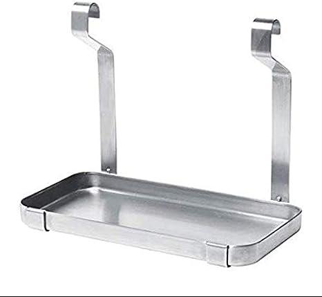 Ikea Grundtal Shelf, Stainless Steel: Amazon.es: Hogar