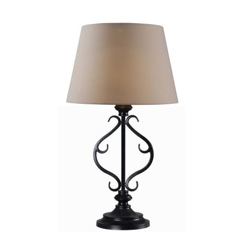 Kenroy Home 32397ORB Clairmont Outdoor Solar Table Lamp, Oil Rubbed Bronze Finish by Kenroy Home