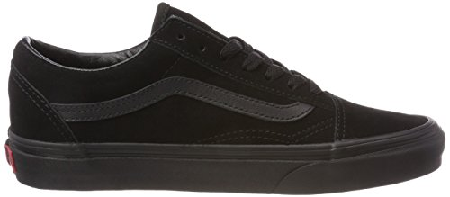 Old Suede Black Vans Unisex Adults' Skool Black Nri Black Trainers Black xAEwZRwqY