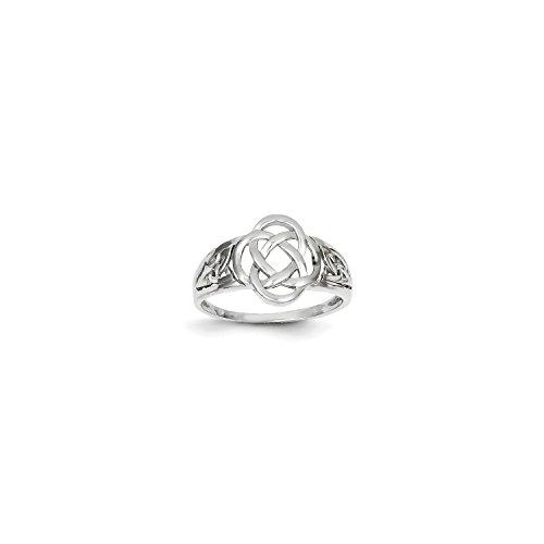 White Gold Celtic Knot - 5