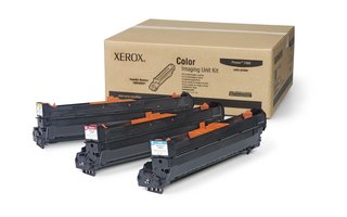 Genuine Xerox OEM | Phaser 7400 | Imaging Unit, Color Kit (Cyan, Magenta, Yellow) (3Pk) | (Color Imaging Unit Kit)
