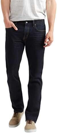 Aeropostale Men's Slim Straight Dark Wash Reflex Jean