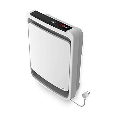 Stelpro ASOA1501PW OASIS Plug-In Bathroom Fan Heater 1500 Watt 120 Volt, White,