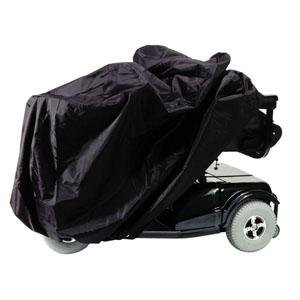 Alimed Scooter and Power Chair Cover 50'' x 22'' x 33'' Black, Nylon, Elasticized Reinforced Seams