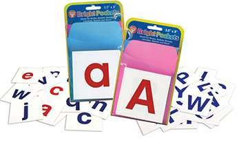 Alphabet Cards Combo Pack By Hygloss Products Inc.