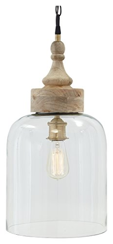 Glass Pendant Light With Chain - 9