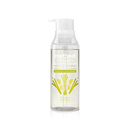Method Naturally Derived Odor Eliminating Kitchen Hand Wash, Lemon Grass, 6 Count