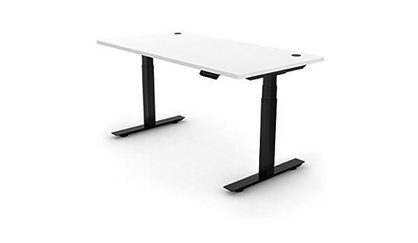 Ergopose «ePo» Estructura de escritorio metálica negra con altura ...