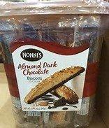Nonnis's Almond Dark Chocolate Biscotti 25 count (2 lb. 1.25 oz)