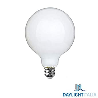 Daylight Italia bombilla LED Milk Globo 125 E27 11 W 1521lm opalina - 4000 K luz Neutra: Amazon.es: Iluminación