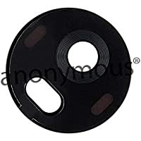 Anonymous Back Rear Camera Glass Lens with Sticker/Adhesive for Moto G5 Plus (Made of Glass)