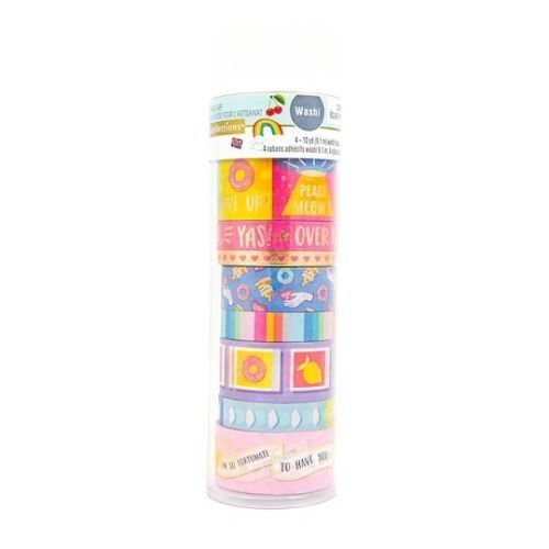 Recollections Modern Pop Fortune Cookie Washi Tape Tube 536167