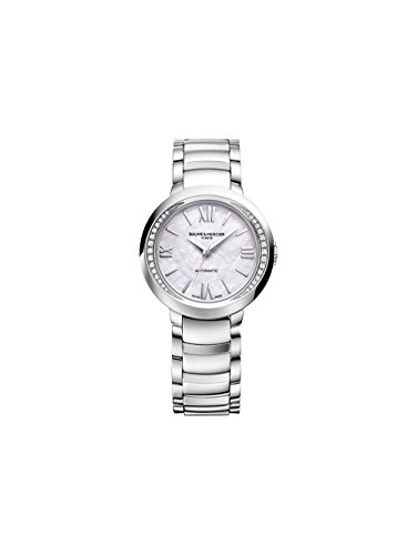 Baume et Mercier Promesse Mother of Pearl Dial Ladies Watch MOA10184
