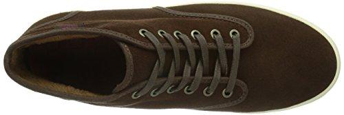 Vans W Houston (Fleece) Espres - Zapatillas de cuero para mujer Marrón (Espresso/Bison)