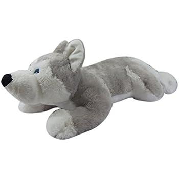 Amazon Com Jumbo Dog Plush Giant Stuffed Animal 40 Husky Toys
