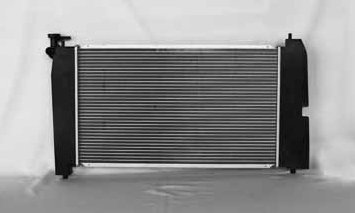 TYC 2428 Toyota 1-Row Plastic Aluminum Replacement Radiator