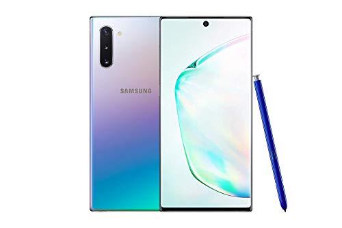 Samsung Galaxy Note 10 6.3 inches Smartphone Dual-SIM 256GB Sim-Free Aura Glow A (Renewed)