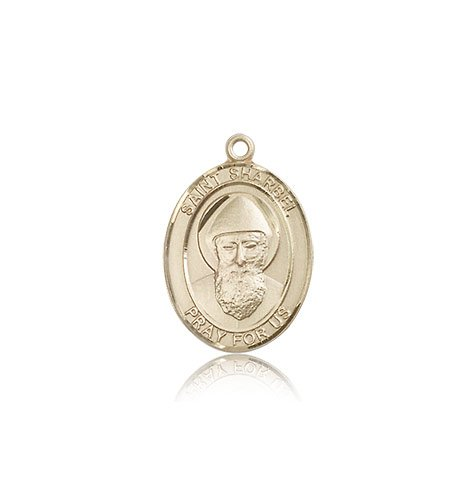 14 ktゴールド聖Sharbel Medal