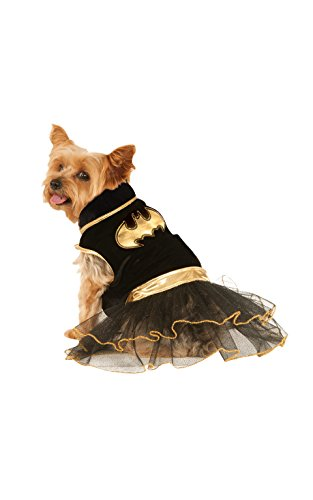 DC Comics Batgirl Pet Tutu Dress, (Batgirl Costumes For Dogs)