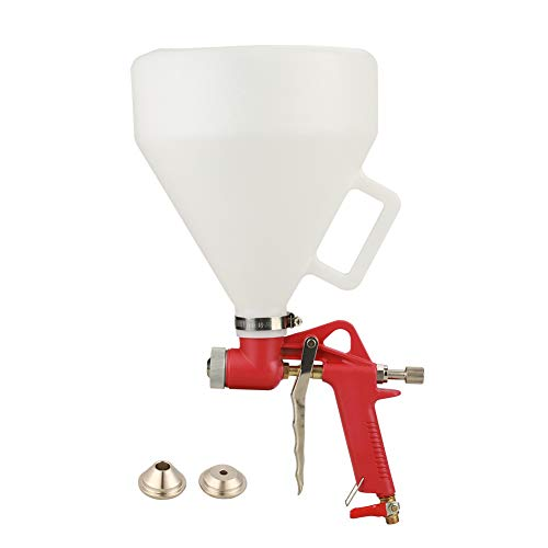 Hopper Spray Gun, Ceiling Wall Texture Pneumatic Air Hopper Spray Gun for Drywall Render Plaster Painting