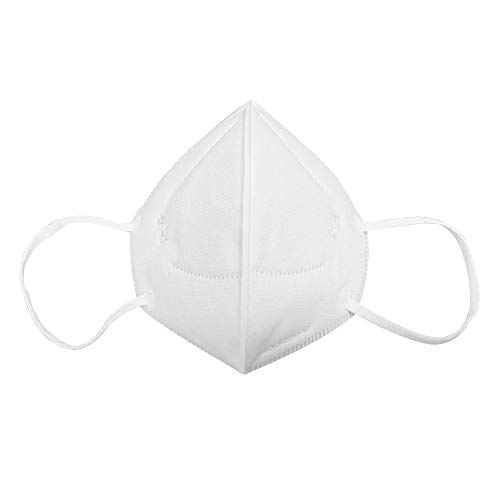 Walmeck- Anti Pollution Mask, KN95 Particulate Respirator Dust Masks, Anti-Dust, Smoke, Gas, Allergies, Germs and Personal Protective Equipment, Non-Medical