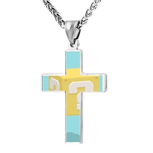 Gjghsj2 Cross Necklace Pendant Religious Jewelry Question Mark