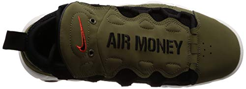 Medium Money Herren Black 001 Air Red NIKE More Olive Mehrfarbig Habanero Sneakers gwYTq4p