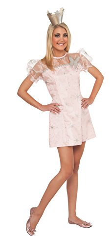 Good Character Costumes (Wizard Of Oz Glinda The Good Witch Teen Costume, Pink, Small)
