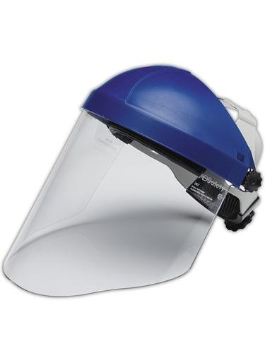 3M 10078371827837 Combination H8A Ratchet Headgear and WP96 Polycarbonate Face Shield -