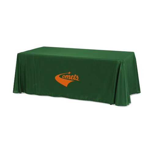 UT Dallas Dark Green 6 foot Table Throw 'Official Logo' by CollegeFanGear